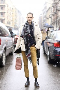 Cropped pant street