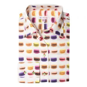 chemise-macarons-coupe-cintree-pour-femme